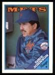 1988 Topps #164   Davey Johnson Front Thumbnail