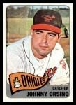 1965 Topps #303   John Orsino Front Thumbnail