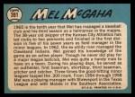 1965 Topps #391  Mel McGaha  Back Thumbnail