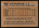 1988 Topps #380  Joe Magrane  Back Thumbnail
