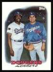 1988 Topps #489  Dodgers Leaders  Front Thumbnail
