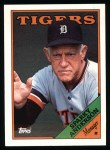 1988 Topps #14  Sparky Anderson  Front Thumbnail