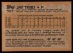 1988 Topps #464  Jay Tibbs  Back Thumbnail