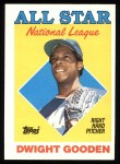1988 Topps #405  All-Star  -  Dwight Gooden Front Thumbnail
