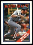 1988 Topps #200  Wade Boggs  Front Thumbnail