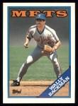 1988 Topps #333  Wally Backman  Front Thumbnail