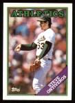 1988 Topps #272   Steve Ontiveros Front Thumbnail