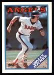 1988 Topps #420   Wally Joyner Front Thumbnail
