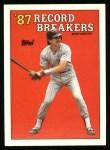 1988 Topps #7  Record Breaker  -  Benito Santiago Front Thumbnail