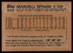 1988 Topps #454   Marvell Wynne Back Thumbnail