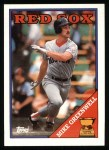 1988 Topps #493   Mike Greenwell Front Thumbnail