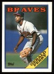 1988 Topps #39  Gerald Perry  Front Thumbnail