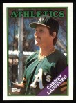 1988 Topps #292   Carney Lansford Front Thumbnail
