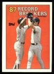 1988 Topps #2   -  Don Mattingly Record Breaker Front Thumbnail