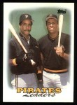 1988 Topps #231  Pirates Leaders  -  Barry Bonds / Bobby Bonilla Front Thumbnail
