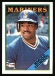 1988 Topps #485  Harold Reynolds  Front Thumbnail