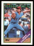 1988 Topps #38   Jeff Calhoun Front Thumbnail