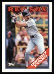 1988 Topps #470   Dwight Evans Front Thumbnail