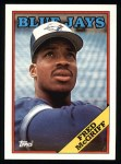 1988 Topps #463   Fred McGriff Front Thumbnail