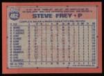 1991 Topps #462   Steve Frey Back Thumbnail