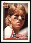 1991 Topps #323  Cory Snyder  Front Thumbnail