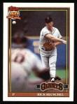 1991 Topps #422   Rick Reuschel Front Thumbnail