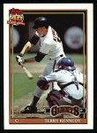1991 Topps #66   Terry Kennedy Front Thumbnail