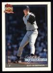 1991 Topps #19  Jeff D. Robinson  Front Thumbnail