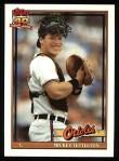 1991 Topps #385  Mickey Tettleton  Front Thumbnail