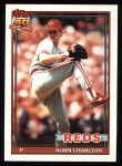1991 Topps #309  Norm Charlton  Front Thumbnail