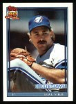 1991 Topps #460  Dave Stieb  Front Thumbnail