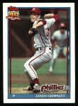 1991 Topps #173  Jason Grimsley  Front Thumbnail