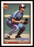 1991 Topps #220  Tim Wallach  Front Thumbnail