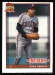 1991 Topps #346   Jesse Orosco Front Thumbnail