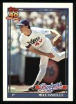 1991 Topps #199  Mike Hartley  Front Thumbnail