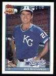 1991 Topps #371   Jeff Montgomery Front Thumbnail