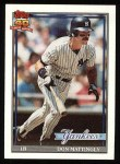 1991 Topps #100   Don Mattingly Front Thumbnail