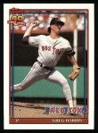 1991 Topps #123  Greg A. Harris  Front Thumbnail