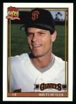 1991 Topps #325   Brett Butler Front Thumbnail