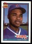 1991 Topps #241  Dave Clark  Front Thumbnail