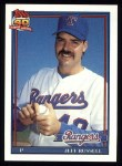 1991 Topps #344  Jeff Russell  Front Thumbnail