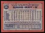 1991 Topps #126   Bernard Gilkey Back Thumbnail
