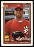 1991 Topps #368   Felix Jose Front Thumbnail