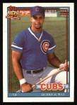 1991 Topps #288  Derrick May  Front Thumbnail
