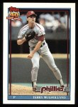 1991 Topps #413   Terry Mulholland Front Thumbnail