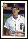 1991 Topps #328  Walt Terrell  Front Thumbnail