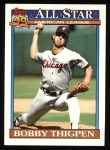 1991 Topps #396   -  Bobby Thigpen All-Star Front Thumbnail