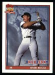 1991 Topps #450  Wade Boggs  Front Thumbnail