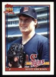 1991 Topps #234   Scott Erickson Front Thumbnail