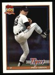 1991 Topps #431   Paul Gibson Front Thumbnail